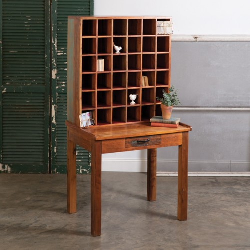 Vintage Post Office Sorting Table