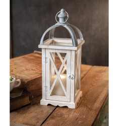 Wood and Metal St. Claire Lantern