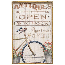 Antiques Board Sign