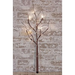 """Brown Wrapped Branch, 27"""""""