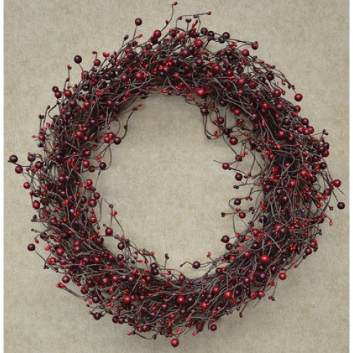Country Berry Wreath - 20""