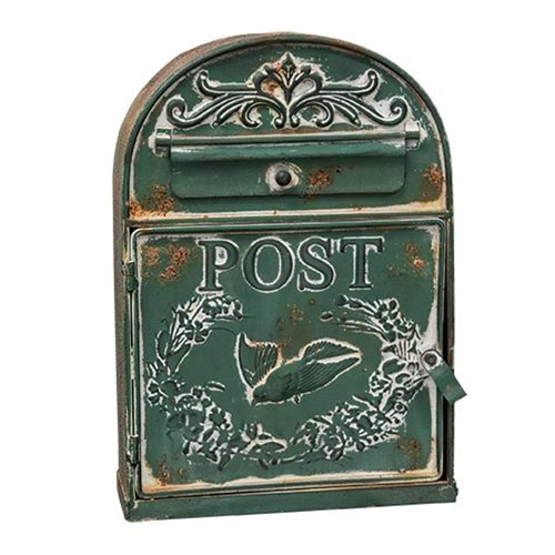 Rounded Bird Post Box