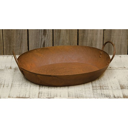 Rusty Scrapple Pan
